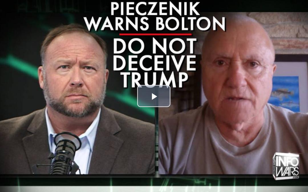 Alex Jones January 8: Don't deceive trump
