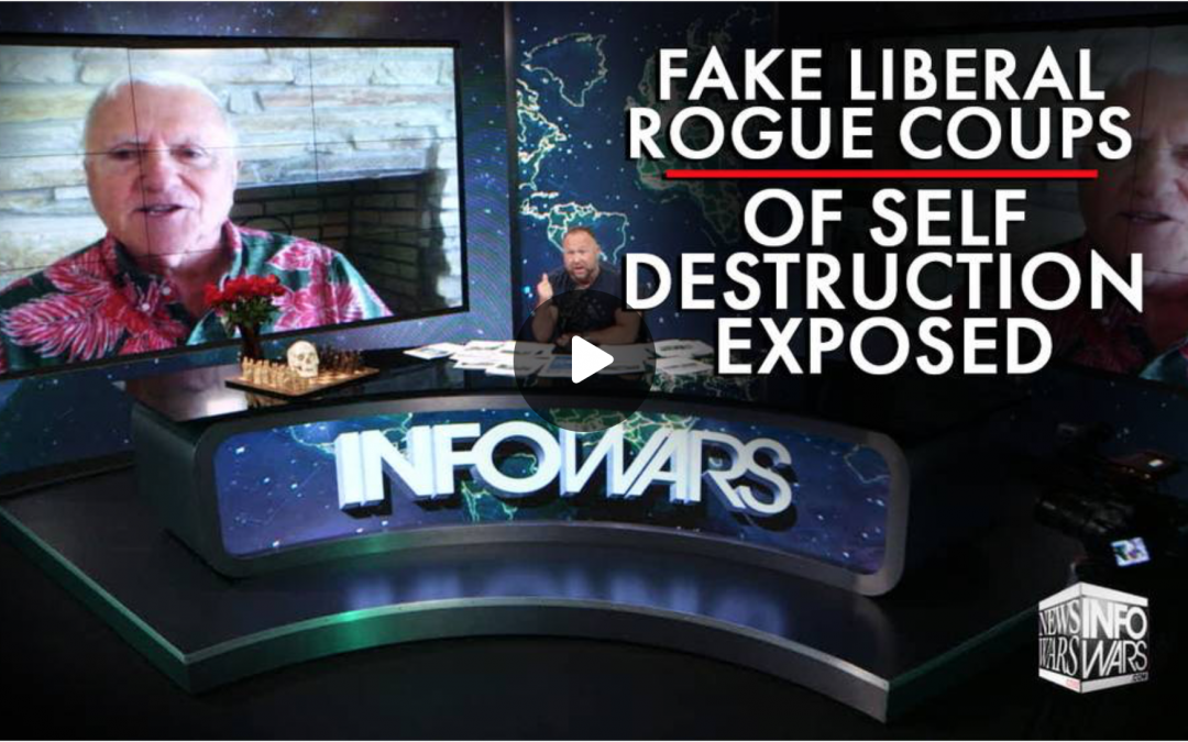 Alex Jones June 9: Fake Liberal Rogue Coups of Self Destruction Exposed